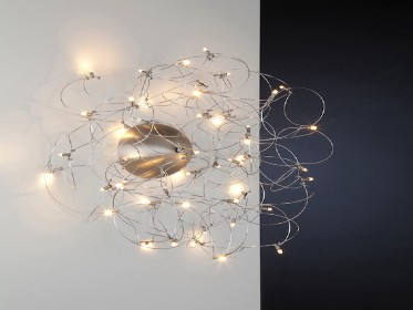 Curled Wall Lamp